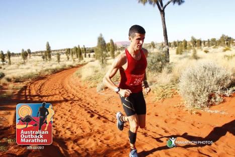 Paolo Tosetti Australian Outback Marathon